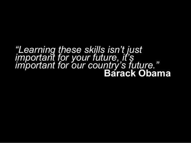 barack obama learn to code