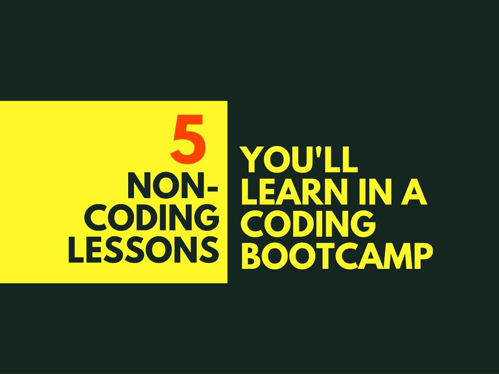 5-non-coding-lessons