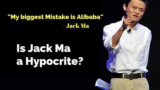 Is Jack Ma A Hypocrite?