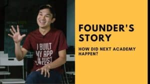 Josh-teng- NEXT Academy Founder's Story