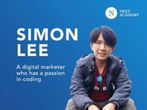 Simon Lee, Part-Time Coding Graduate