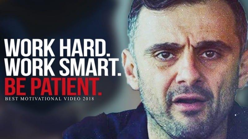 Motivational words from Gary Vaynerchuk
