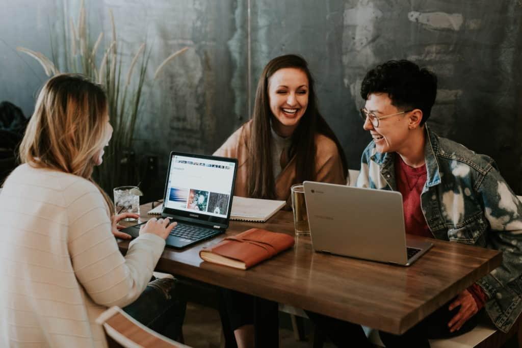 group-laptop-work